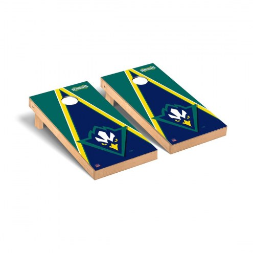 North Carolina Wilmington Seahawks Triangle Cornhole Game Set