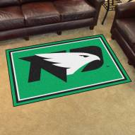 North Dakota Fighting Hawks 4' x 6' Area Rug