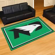 North Dakota Fighting Hawks 5' x 8' Area Rug