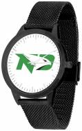 North Dakota Fighting Hawks Black Mesh Statement Watch