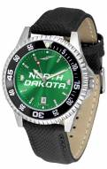 North Dakota Fighting Hawks Competitor AnoChrome Men's Watch - Color Bezel
