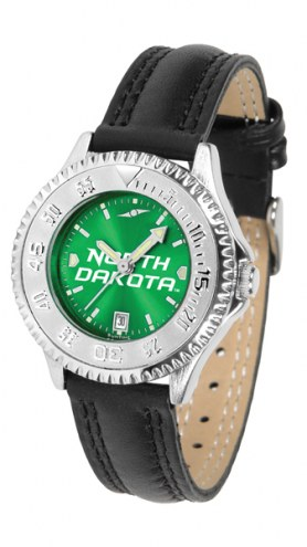 North Dakota Fighting Hawks Competitor AnoChrome Women's Watch
