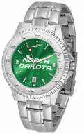 North Dakota Fighting Hawks Competitor Steel AnoChrome Men's Watch