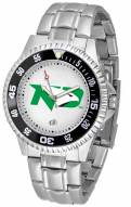 North Dakota Fighting Hawks Competitor Steel Men's Watch