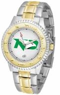 North Dakota Fighting Hawks Competitor Two-Tone Men's Watch