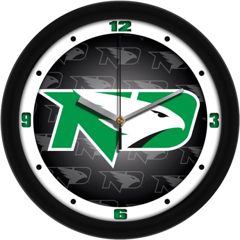 North Dakota Fighting Hawks Dimension Wall Clock