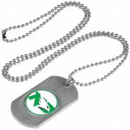 North Dakota Fighting Hawks Dog Tag