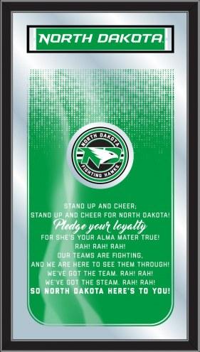 North Dakota Fighting Hawks Fight Song Mirror