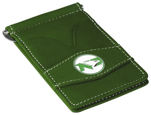 North Dakota Fighting Hawks Green Player's Wallet