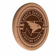North Dakota Fighting Hawks Laser Engraved Wood Sign