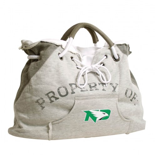 North Dakota Fighting Hawks Hoodie Tote Bag