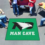 North Dakota Fighting Hawks Man Cave Tailgate Mat