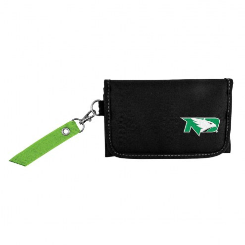 North Dakota Fighting Hawks Ribbon Organizer Wallet