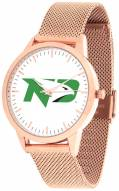 North Dakota Fighting Hawks Rose Mesh Statement Watch
