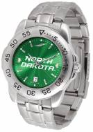 North Dakota Fighting Hawks Sport Steel AnoChrome Men's Watch
