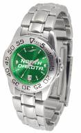North Dakota Fighting Hawks Sport Steel AnoChrome Women's Watch