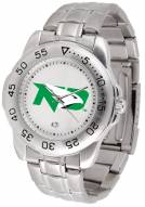 North Dakota Fighting Hawks Sport Steel Men's Watch