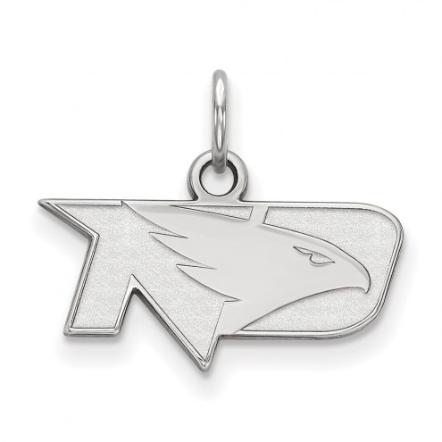 North Dakota Fighting Hawks Sterling Silver Extra Small Pendant