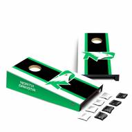 North Dakota Fighting Hawks Mini Cornhole Set