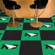 North Dakota Fighting Hawks Team Carpet Tiles