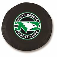 North Dakota Fighting Hawks Tire Cover