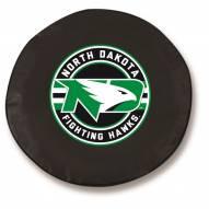 North Dakota Fighting Hawks Tire Cover