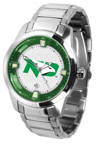 North Dakota Fighting Hawks Titan Steel Men's Watch