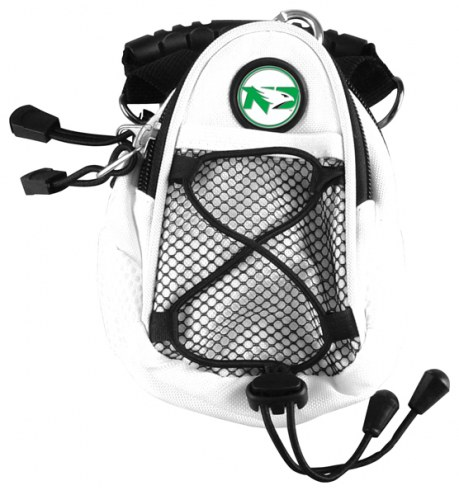 North Dakota Fighting Hawks White Mini Day Pack