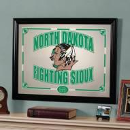 "North Dakota Fighting Sioux 23"" x 18"" Mirror"