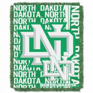 North Dakota Fighting Sioux Double Play Woven Throw Blanket