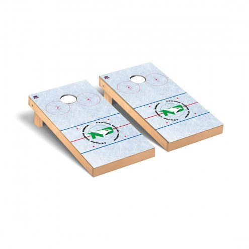 North Dakota Fighting Hawks Hockey Cornhole Game Set