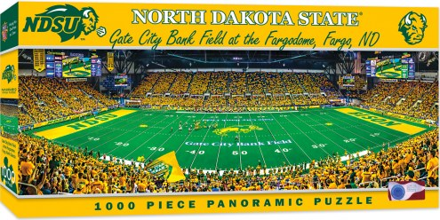 North Dakota State Bison 1000 Piece Panoramic Puzzle