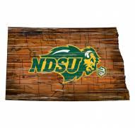 "North Dakota State Bison 12"" Roadmap State Sign"