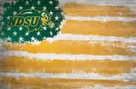"North Dakota State Bison 17"" x 26"" Flag Sign"
