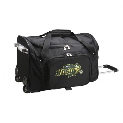 "North Dakota State Bison 22"" Rolling Duffle Bag"
