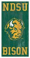 "North Dakota State Bison 6"" x 12"" Heritage Logo Sign"