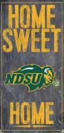 "North Dakota State Bison 6"" x 12"" Home Sweet Home Sign"
