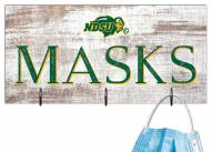"North Dakota State Bison 6"" x 12"" Mask Holder"