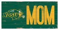 """North Dakota State Bison 6"""" x 12"""" Mom Sign"""