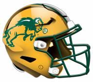 North Dakota State Bison Authentic Helmet Cutout Sign