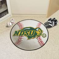 North Dakota State Bison Baseball Rug