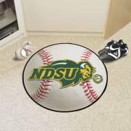 North Dakota State Bison Baseball Rug