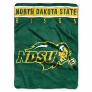North Dakota State Bison Basic Plush Raschel Blanket