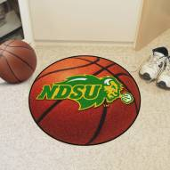 North Dakota State Bison Basketball Mat