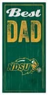 North Dakota State Bison Best Dad Sign