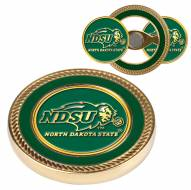 North Dakota State Bison Challenge Coin with 2 Ball Markers
