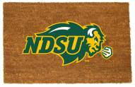North Dakota State Bison Colored Logo Door Mat