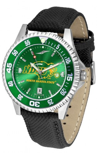 North Dakota State Bison Competitor AnoChrome Men's Watch - Color Bezel