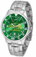North Dakota State Bison Competitor Steel AnoChrome Color Bezel Men's Watch