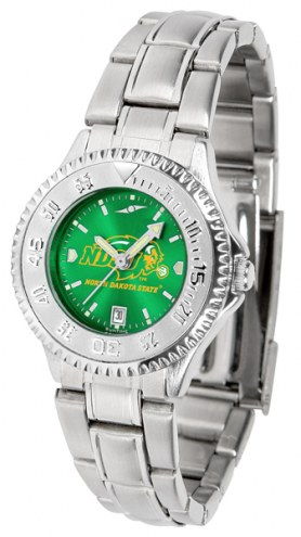 North Dakota State Bison Competitor Steel AnoChrome Women's Watch